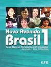 Novo Avenida Brasil 1 Livro texto + Livro de Exercícos + CD
