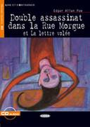 Double assassinat dans la Rue Morgue et La lettre volée (Book + CD)