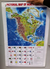 Map of North America (Poster 56 cm x 90 cm)